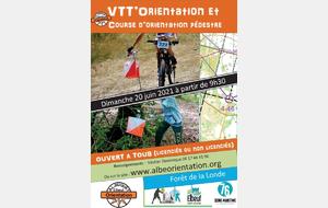Résultats VTT'O et VTT'O sprint du 20 Juin
